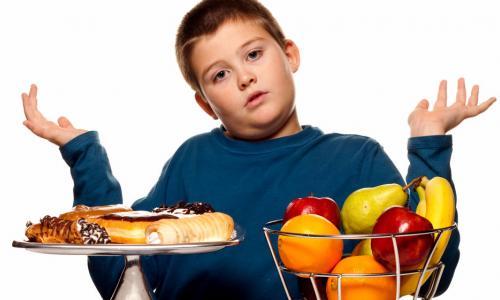 Chế độ dinh dưỡng hợp lý cho trẻ béo phì