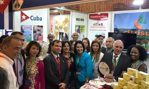 Thành tựu y học Cuba tại triển lãm Vietnam Expo 2018