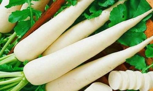 Món ăn thuốc từ củ cải