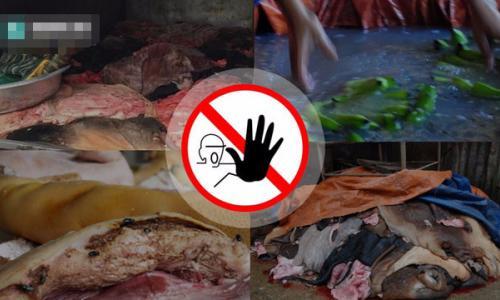 Chặn thực phẩm bẩn: Khó và dễ