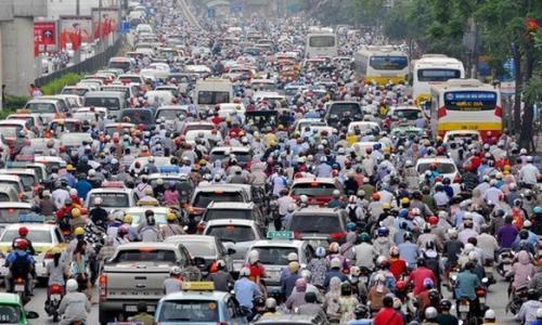 Tổn hại sức khỏe vì ách tắc giao thông và sức khỏe con người