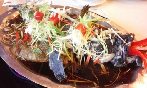 10 phút có món cá xốt xì dầu nấm