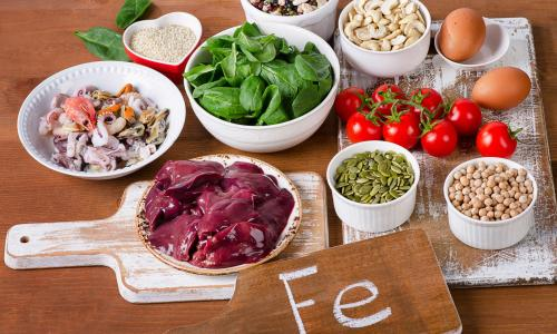 Mẹo bổ sung sắt trong chế độ ăn hàng ngày
