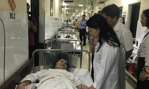 Bộ trưởng Bộ Y tế yêu cầu BV Việt Đức tiếp tục cải tiến quy trình khám chữa bệnh