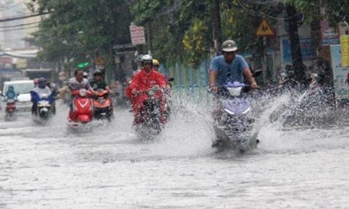Bắc Bộ sắp mưa lớn do ảnh hưởng của áp thấp nhiệt đới