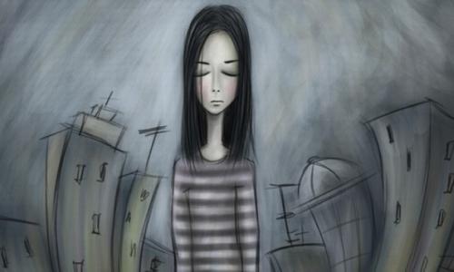 Phụ nữ quá gầy dễ bị trầm cảm và lo âu