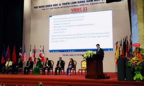 Hội nghị khoa học và triển lãm răng hàm mặt quốc tế lần thứ XI