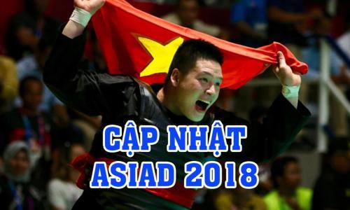 Bùi Thị Thu Thảo với bước nhảy Vàng mười tại ASIAD 2018