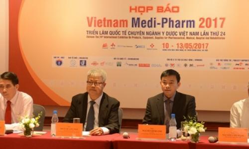 Nhiều công nghệ thế giới sẽ trình diễn tại triển lãm Y dược lớn nhất tại Việt Nam
