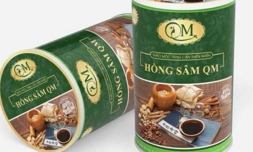 Vi phạm về sản xuất buôn bán trà tăng cân, giảm cân, công ty Hồng Sâm QM bị xử phạt hơn 50 triệu