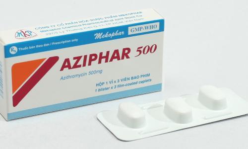 Dùng kháng sinh azithromycin trị nhiễm khuẩn: Những cảnh báo mới nhất