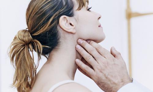 Bệnh nhân có khối u bướu