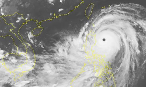 Siêu bão cấp 17 sẽ gây mưa lớn cho Bắc Bộ từ ngày 17/9