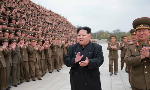 Dẹp bỏ bất đồng, Triều Tiên nhóm lửa hòa bình