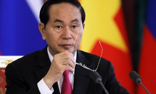 Tình cảm người dân dành cho Chủ tịch nước Trần Đại Quang