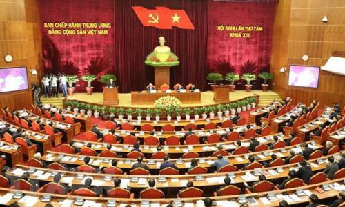 Khai mạc Hội nghị lần thứ 8 Ban Chấp hành Trung ương Đảng khóa XII