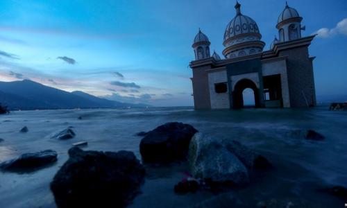 Rùng mình cảnh làng mạc ở Indonesia bị bùn đất