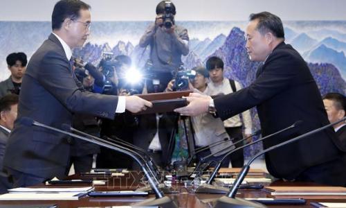 Hai miền Triều Tiên chuyển đổi JSA thành điểm tham quan du lịch